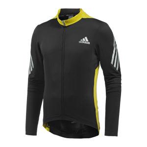 Adidas Supernova Long Sleeve Fz Cycling Jersey