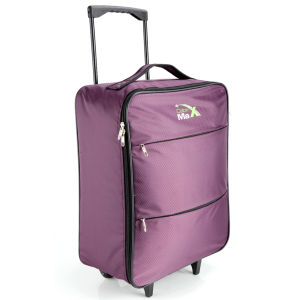 Cabin Max Stockholm Worlds Lightest Trolley Bag - Purple