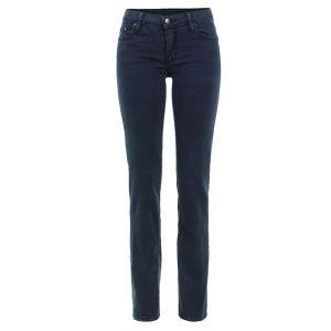 Nobody Women's Mod Straight Jeans - Verde