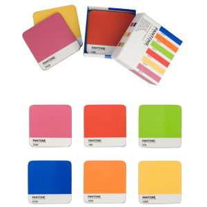 Pantone Universe Mixed Coasters Set of 6 - Original Tones