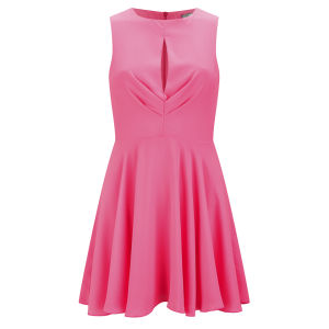 LOVE Women's Pleated Dress - Pink