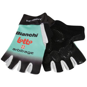 Bianchi Lotto Team Race Mitts - 2013