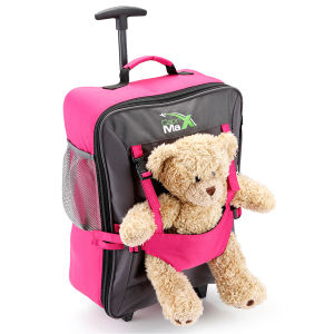 Cabin Max Childrens Bear Bag - Pink