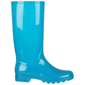 Fame & Fortune Women's Jade Neon Welly - Neon Blue