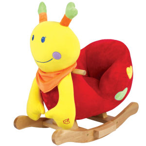 Deluxe Baby Rocking Bug Bright Colours