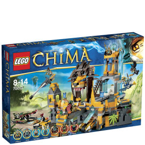 LEGO Legends of Chima: The Lion CHI Temple (70010)