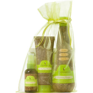 Macadamia Natural Oil Original Heroes Trio - Worth £43.40 (Shampoo 300ml, Deep Repair Masque 100ml, Healing Oil Spray 60ml)