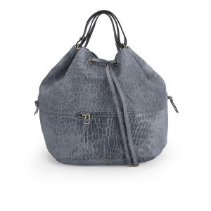 Jerome Dreyfuss Alain Leather Shoulder Bag - Light Blue