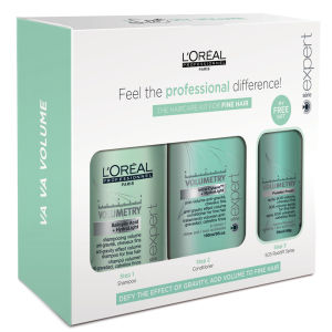 L'Oreal Professionnel Serie Expert Volumetry Hair Care Kit for Fine Hair