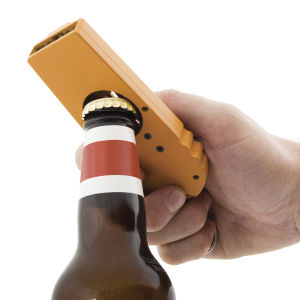 Cap Zappa - Bottle Opening Cap Launcher