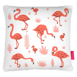 Ohh Deer Flamingos Cushion