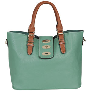 Kris-Ana 8283 Shoulder Tote - Green