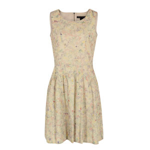 Marc by Marc Jacobs Women's 302 Wildwood Embroidery Dress - Oatmeal
