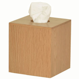 Mezza Natural Oak Tissue Box