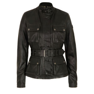 Belstaff Women's Triumph Leather Jacket - Black