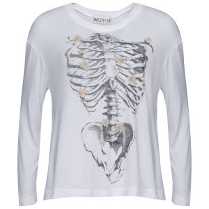 Wildfox Women's Daisy Bones T-Shirt - Clean White