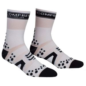 Compressport Pro Racing Socks - Bike - White/Black