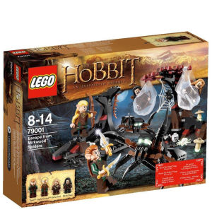 LEGO The Hobbit: Escape from Mirkwood Spiders (79001)
