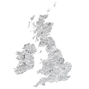 UK Word Map