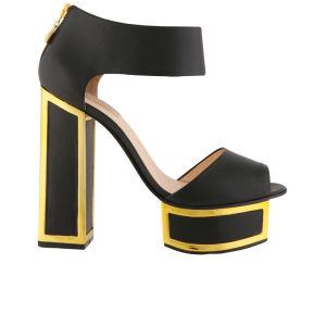 Kat Maconie Women's Pearl Platform Heels - Black