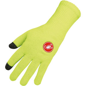 Castelli Prima Gloves - Fluorescent Yellow