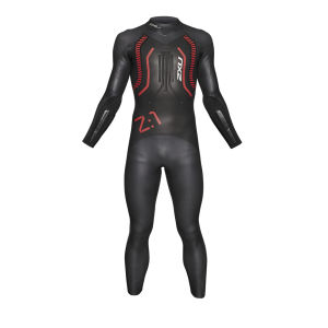 2XU Men's Z-1 Wetsuit - Black/Red