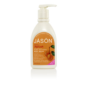 JASON Apricot Satin Body Wash Pump (900ml)