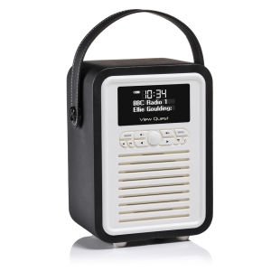 View Quest Retro Mini Bluetooth DAB+ Radio - Black