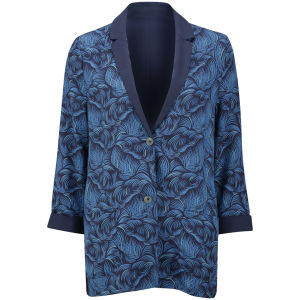 Levi's Made & Crafted Women's Turnout Blazer Jacket - Blue Sapphire