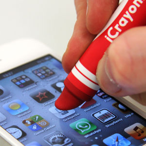 iCrayon Touch Stylus for Mobile Devices - Red