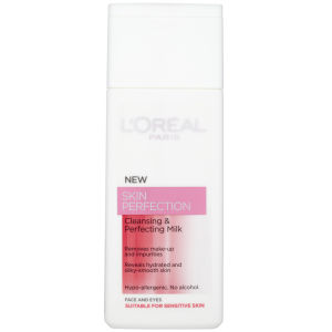 L'Oreal Paris Skin Perfection Cleansing Milk - Dry/Sensitive (200ml)
