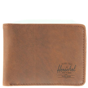 Herschel Hank Leather Wallet - Nubuck