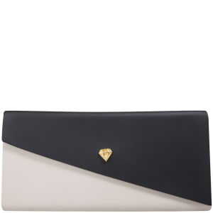 Melissa Women's Chromatic Clutch - Black/Cream