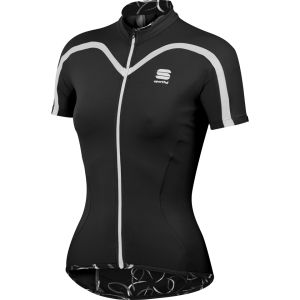 Sportful Charm Women's Short Sleeve Jersey - Black