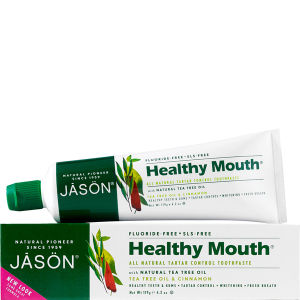Dentífrico Healthy Mouth Tartar Control de JASON (119g)