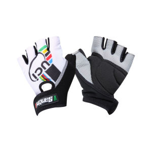 Santini UCI Fashion Race Cycling Gloves (Mitts) - 2012