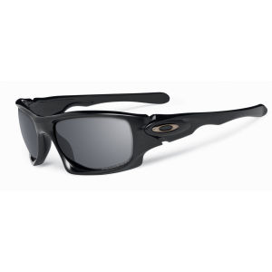 Oakley Men's Ten Polished Iridium Polarized Sunglasses - Black