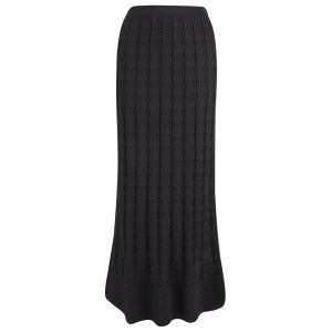 M Missoni Women's Maxi Skirt - Black