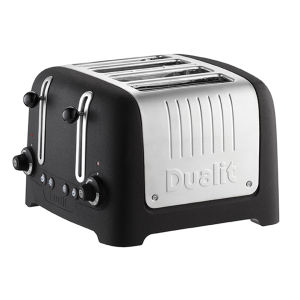 Dualit 46294 4 Slot Lite Toaster - Basalt