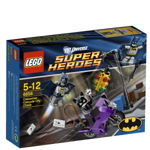 LEGO Super Heroes: Catwoman Catcycle City Chase (6858)
