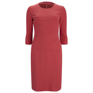 HUGO Women's Kiralas Dress - Light/Pastel Red