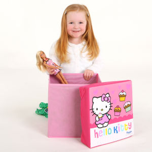 Hello Kitty Storage Box Stool