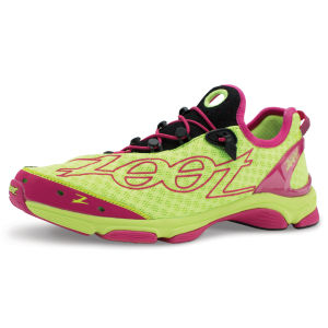Zoot Women's Ultra TT 7.0 Trainers - Safety Yellow/Beet