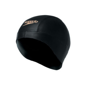 Speedo Tri Comp Swim Cap - Black/Gold - One Size