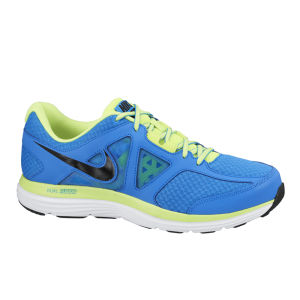 Nike Men's Dual Fusion Lite 2 Running Shoes - Blue/Green