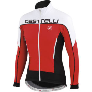 Castelli Mortirolo 3 Jacket - Red/White/Black