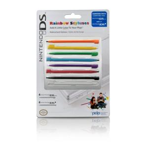 Nintendo Licensed Rainbow Stylus 8-Pack (DS Lite/DSi)