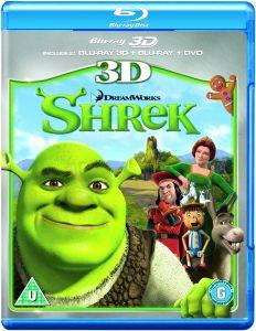 Shrek 3D (3D Blu-Ray, 2D Blu-Ray und DVD)