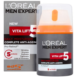 L'Oreal Paris Men Expert Vita Lift 5 Daily Moisturiser (50ml)
