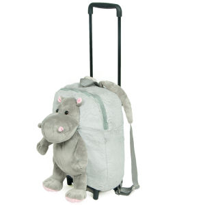 Cabin Max Hippo Trolley Rucksack - Grey